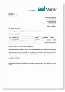 Rechnung Ins Ausland : kleinunternehmer rechnung richtig erstellen mit muster ~ Themetempest.com Abrechnung