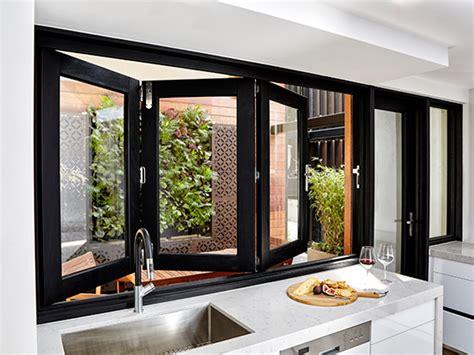 siteline bi fold windows composite windows stegbar windows