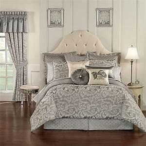 Waterford, U00ae, Linens, Aldrich, Reversible, Comforter, Set, In