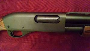 Polished Remington 870 Bolt Assembly  Before And After  Photo