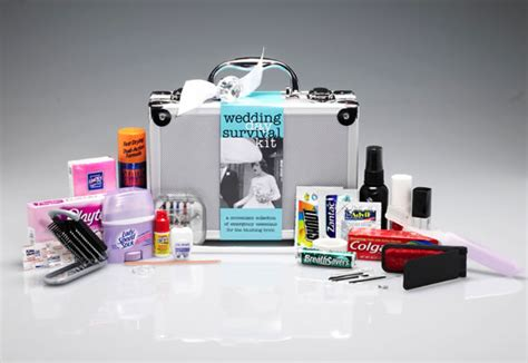 Wedding Day Emergency Kit Must-haves!