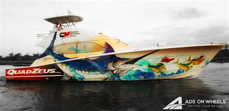 Custom Boat Graphics Pictures by Boat Wraps Graphics Car Wraps Vehicle Wraps Fleet