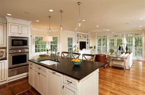 open kitchen island designs five beautiful open kitchen interior designs