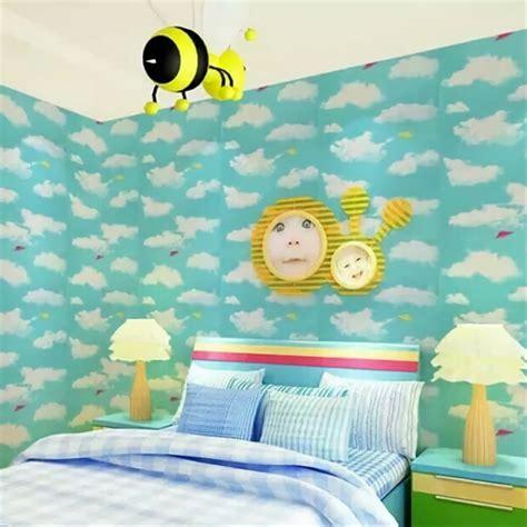 keren  wallpaper dinding awan rona wallpaper