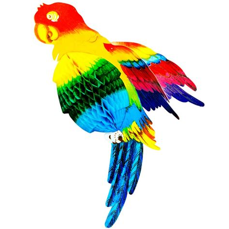 papagei dekoration cm