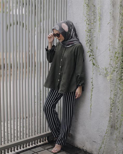 gambar fashion hijab  tutorial hijab terbaru