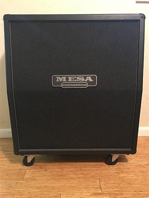 mesa boogie cabinet speakers mesa boogie guitar 4x12 412 slant speaker cabinet 4fb 2010