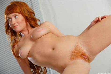 Booty Debut For Gorgeous And Pretty Redhead Danielle