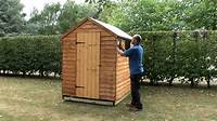 how to build a garden shed How to build a garden shed onto a wooden base - YouTube