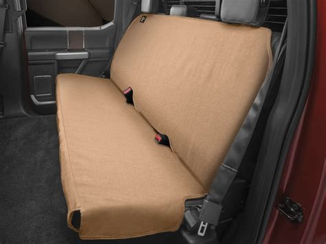 Weathertech Toyota Tacoma Seat Protector  Tan 20012016