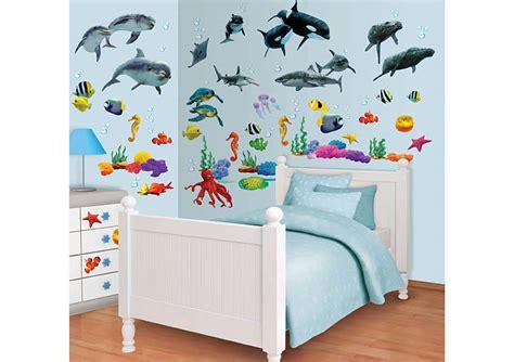 Kinderzimmer Deko Meer by Walltastic Wandsticker Wandtattoo Set Kinderzimmer Fische