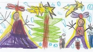 Gemalte Bilder Von Kindern : wir malen weihnachten 500 kinder malen weihnachtliche motive f r das dk ~ Markanthonyermac.com Haus und Dekorationen