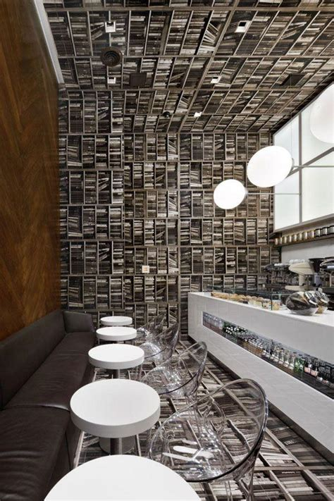 When you have already download the coffee shop menu, you need to think about what you will put in that layout. Modern Cafe Interior Design Ideas from All Around the World   Founterior