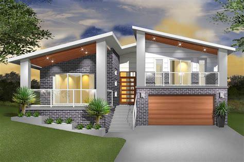 split level home designs hinchinbrook split level sloping block marksman