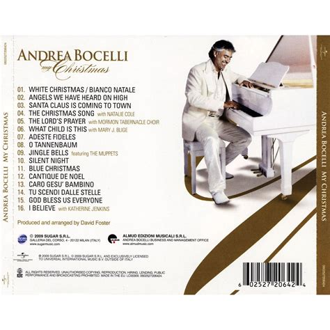 my christmas andrea bocelli mp3 buy full tracklist