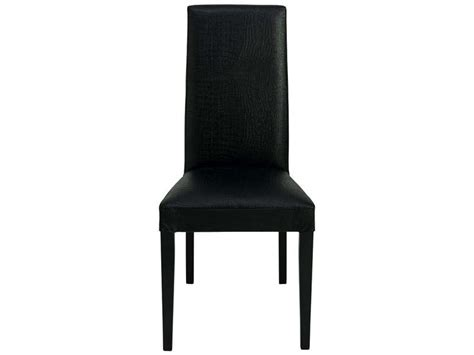 chaise en hetre massif chaise en hêtre massif dundee coloris laqué noir vente de chaise conforama