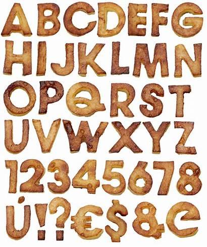 Lettering Fonts Alphabet Fried Behance Handmade Potatoes