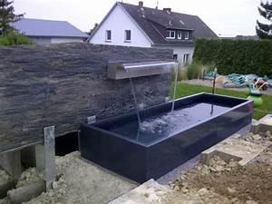 Steinmauer Mit Wasserfall : ideen zu wasserfall garten wohndesign ~ Markanthonyermac.com Haus und Dekorationen