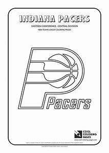 Cool Coloring Pages Indiana Pacers Nba Basketball Teams