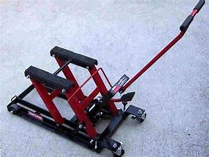 craftsman motorcycle jack motorcycle cruiser With how to jack up a motorcycle with a floor jack