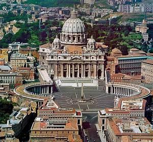 Bernini Il colonnato e Piazza San Pietro a Roma