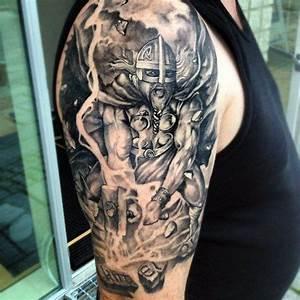 49 besten Hammer Of The Gods Tattoo Bilder auf Pinterest ...