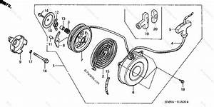 Honda Atv 2002 Oem Parts Diagram For Recoil Starter