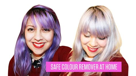 how to remove permanent hair color how to remove semi permanent hair dye no