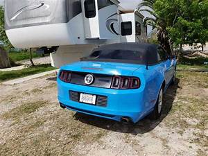 5th gen Grabber Blue 2014 Ford Mustang V6 convertible For Sale - MustangCarPlace