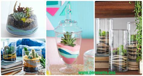 diy sand art terririum ideas projects instructions