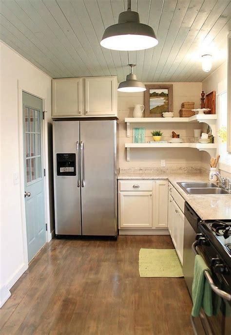 clever ways  add  kitchen storage space  open shelves hometalk