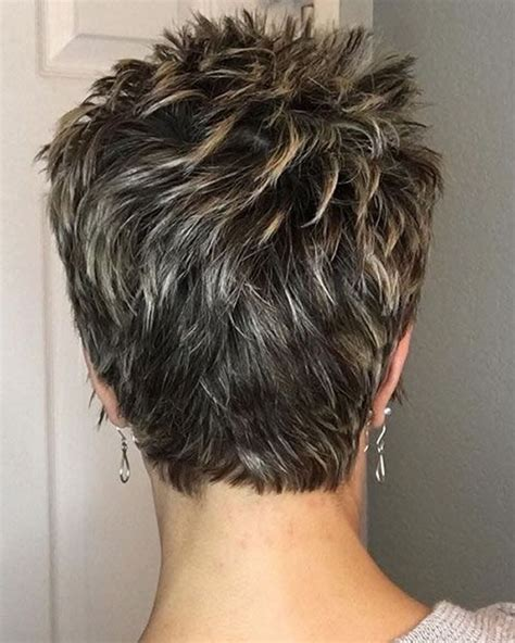 Short Pixie haircuts for older women over 60 for 2019 2020