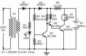 emergency light circuit diagram pdf circuit diagram images With led circuits pdf