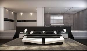 Schlafzimmer Design Grau : schlafzimmer modern schwarz wei ~ Markanthonyermac.com Haus und Dekorationen