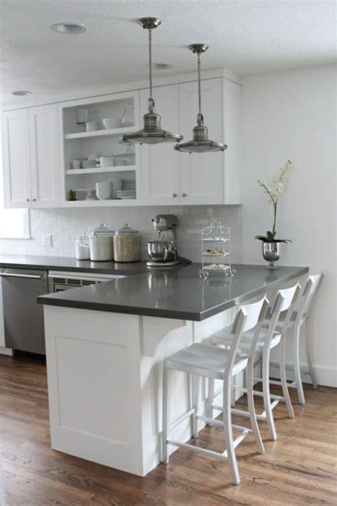 cuisine blanche sol gris les 25 meilleures idées concernant décoration de cuisine
