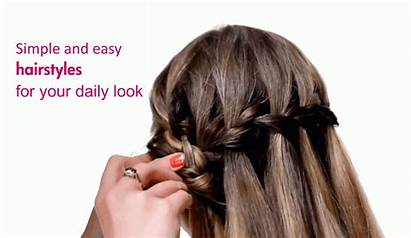 Hairstyles Daily Simple Easy Hair Glamour Tweet