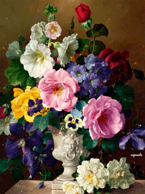 animated flower arrangement pictures   images