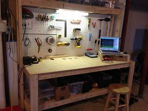 Family Handyman Workbench Plans For Garage BEST HOUSE