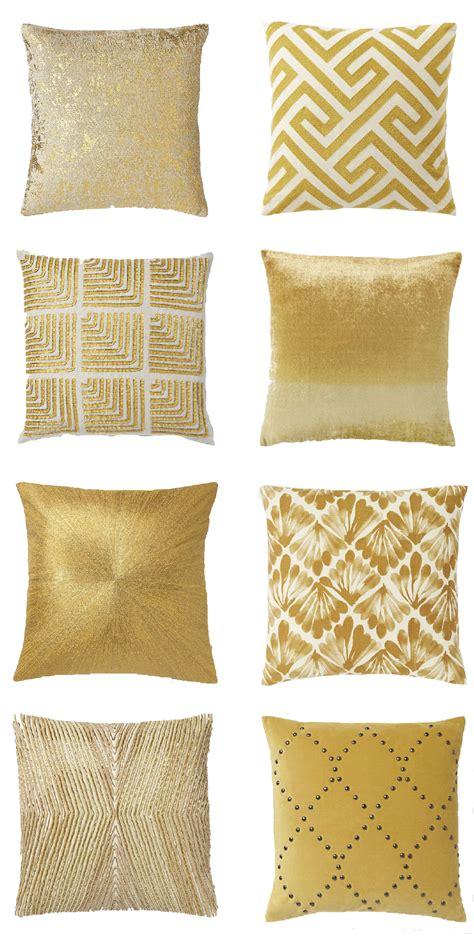 west elm throw pillows gold throw pillows from west elm a side of vogue