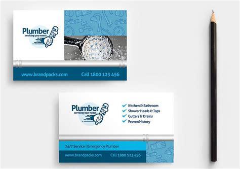 plumbing business cards design templates texty cafe