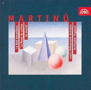 Martinu Ballets Le Raid Etc Supraphon Su37492 031 [rb