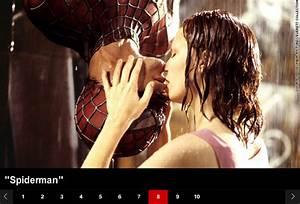 """""""Spider-Man"""" makes InStyle's Top 10 Most Iconic Kisses ..."""