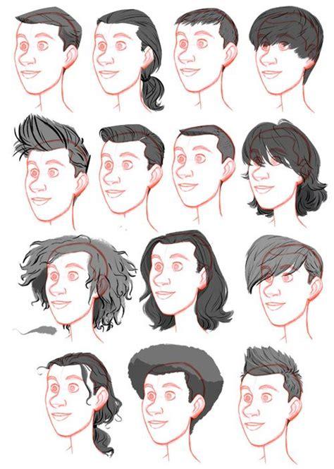 men hair drawing  getdrawings
