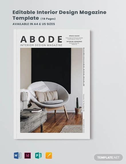 interior design magazines  psd eps ai indesign