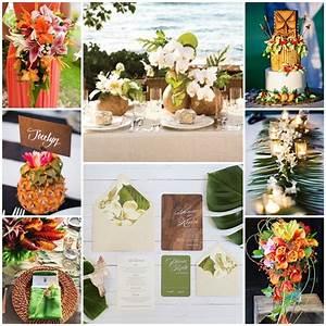 Deco Table Tropical : mon mariage chaud et chic sous les tropiques ~ Teatrodelosmanantiales.com Idées de Décoration