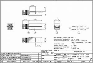 Rj45 To Bnc Wiring Diagram