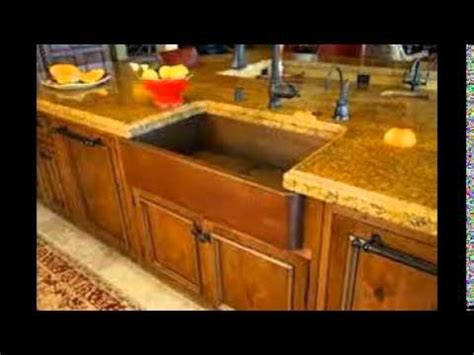 kitchen with copper sink copper undermount kitchen sink 6503