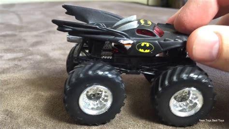 batman monster truck videos wheels batman monster truck toy close up youtube