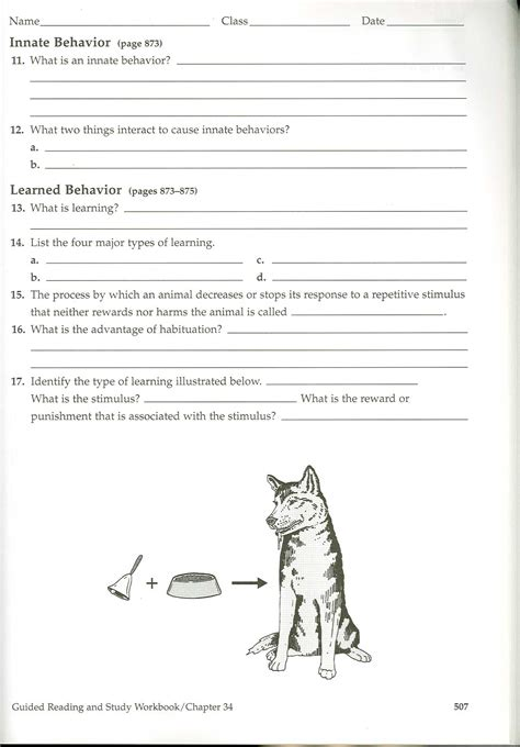 unit i intro to biology and animal behavior