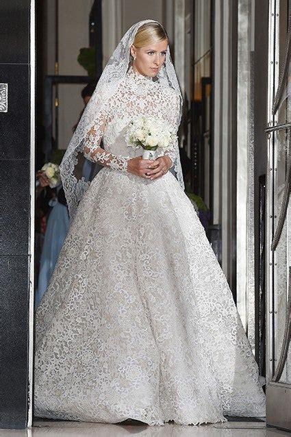 nicky hiltons valentino wedding dress  absolutely